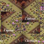 クラクラ【TH9】Team QuesoのESLファイナルの対戦配置5選:コピーリンク付き