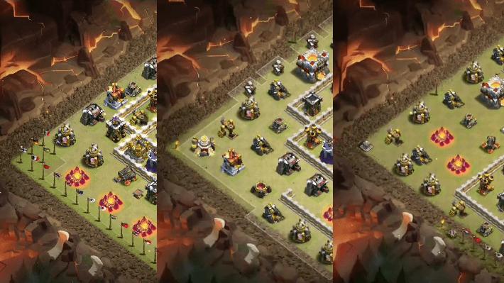 クラクラ【TH11】対戦やリーグ戦で使える対戦配置3個セット:コピーリンク付き