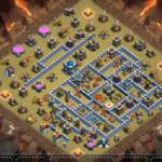クラクラ【TH13】壁を上手く使った対戦配置:コピーリンク付き