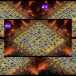 クラクラ【TH13】NOVA毛豆の最新対戦配置5選:コピーリンク付き