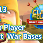 【TH13】ESL Top Player Best Th13 War Bases 6