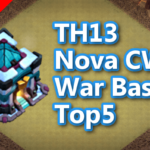 【TH13】Nova CWL War Base Top5 2020/9