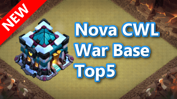 【TH13】Nova毛豆小班 CWL War Base Top5 2020/9