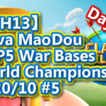 【TH13】Nova MaoDou TOP5 War Bases|World Championship #5 Day 2