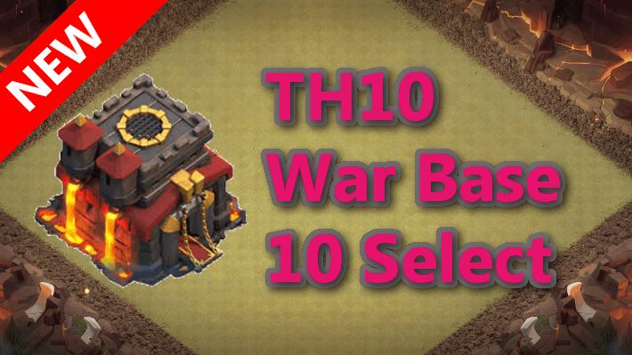 【TH10】対戦配置10個 2020/10 クラクラ配置 コピーリンク付き
