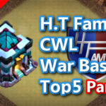 【TH13】H.T Family CWL War Base Top5 Part2 2020/10