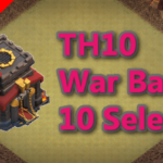 【TH10】対戦配置10個 2020/11 クラクラ配置 コピーリンク付き