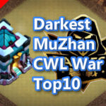 【TH13】Darkest MuZhan CWL War Base Top10 2020/11
