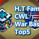 【TH13】H.T Family CWL War Base Top5 Part2 2020/11