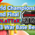 ATN.aTTaX Th13 War Base Best5/World Championship Grand Final/Anti 3Star