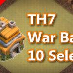 【TH7】対戦配置10個 2021/1 クラクラ配置 コピーリンク付き