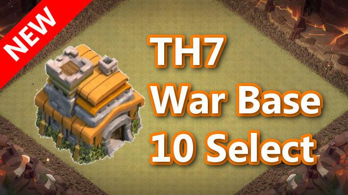 【TH7】対戦配置10個 2021/2 クラクラ配置 コピーリンク付き