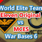 【TH13】World Elite Team「Eleven Original vs MCES」War Bases 6 2021/3 クラクラ配置 コピーリンク付き