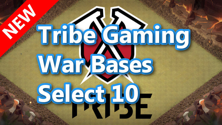 【TH13】Tribe Gaming War Bases Select 10 2021/3 クラクラ配置 コピーリンク付き