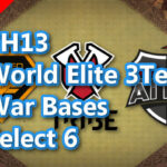 【TH13】World Elite 3Team War Bases Select 6 2021/3 クラクラ配置 コピーリンク付き