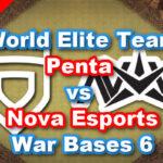 【TH13】World Elite Team「Penta vs Nova Esports」War Bases 6 2021/3 クラクラ配置 コピーリンク付き