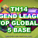 【TH14】LEGEND LEAGUE TOP GLOBAL 5BASE /レジェンド グローバル上位配置5個