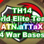 【TH14】World Elite Team 「ATN.aTTaX」4 War Bases 対戦配置