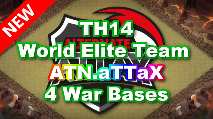 【TH14】World Elite Team 「ATN.aTTaX」4 War Bases 対戦配置