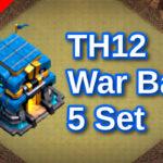 【TH12】対戦配置5個 2021/5 クラクラ配置 コピーリンク付き