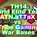 【TH14】World Elite Team「ATN.aTTaX vs Tribe Gaming」War Bases 対戦配置