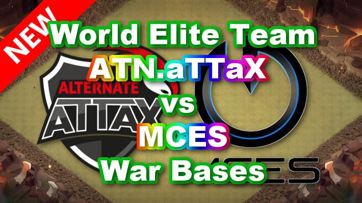 【TH14】World Elite Team「ATN.aTTaX vs MCES」War Bases 対戦配置