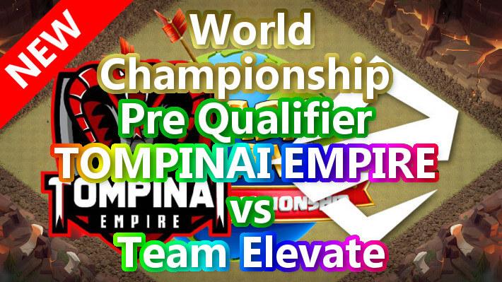 World Championship Pre Qualifier Winner「TOMPINAI EMPIRE」vs「Elevate」TH14対戦配置