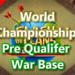 World Championship Pre Qualifier TH14対戦配置