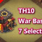 【TH10】対戦配置7個 2021/7 クラクラ配置 コピーリンク付き