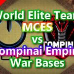 【TH14】World Elite Team「MCES」vs「Tompinai Empire」War Bases 対戦配置