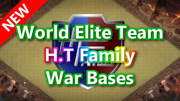 【TH14】World Elite Team「H.T Family」War Bases 対戦配置