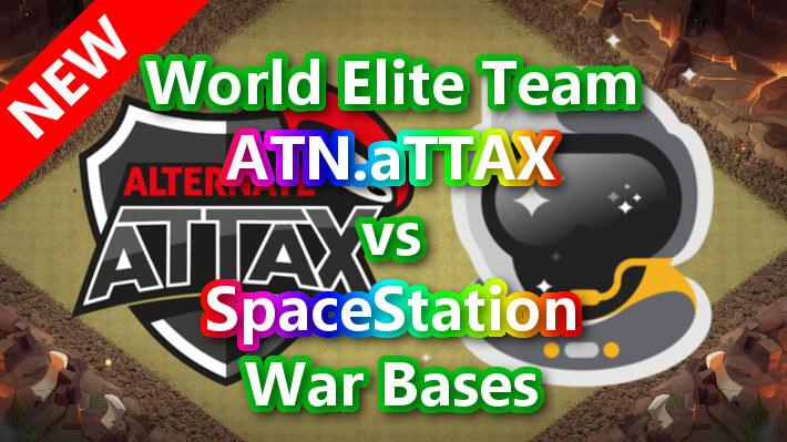 【TH14】World Elite Team「ATN.aTTAX」vs「SpaceStation」War Bases 対戦配置