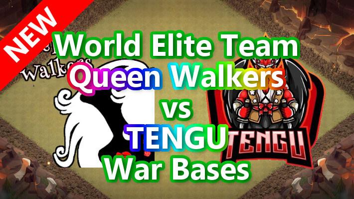 【TH14】World Elite Team「Queen Walkers」vs「TENGU」War Bases 対戦配置