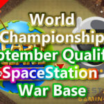 World Championship September Qualifier「SpaceStation」War Base/9月予選 TH14対戦配置